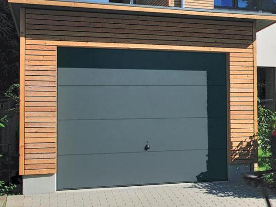 Systeme porte de garage basculante