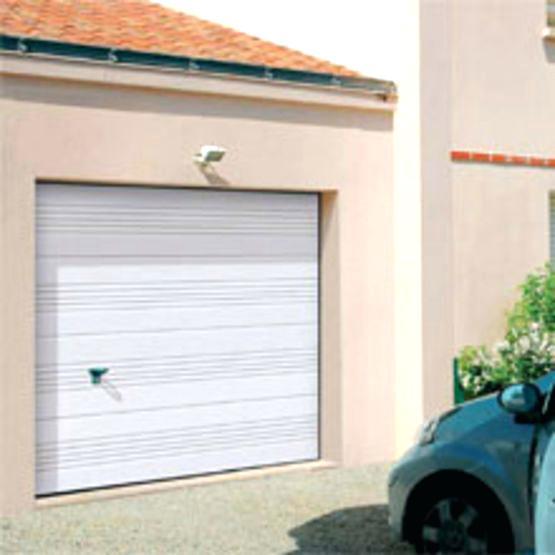 porte de garage basculante avec portillon 300x200 bois eco. Black Bedroom Furniture Sets. Home Design Ideas