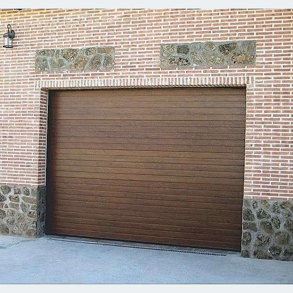 Porte de garage sectionnelle 300 x 200 gris
