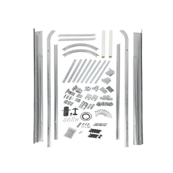 Porte de garage sectionnelle à cassette speos