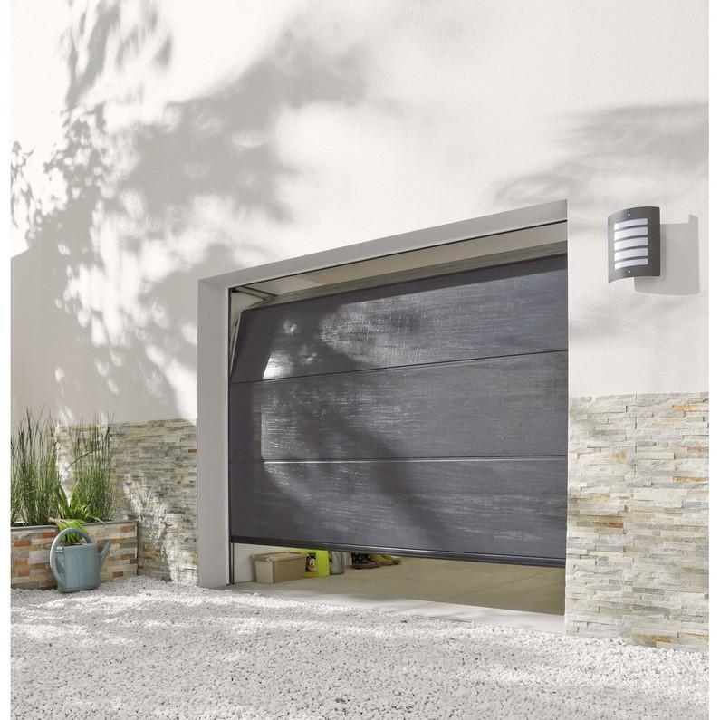 Porte de garage sectionnelle 300 x 200 leroy merlin