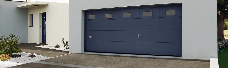 Porte de garage sectionnelle 67