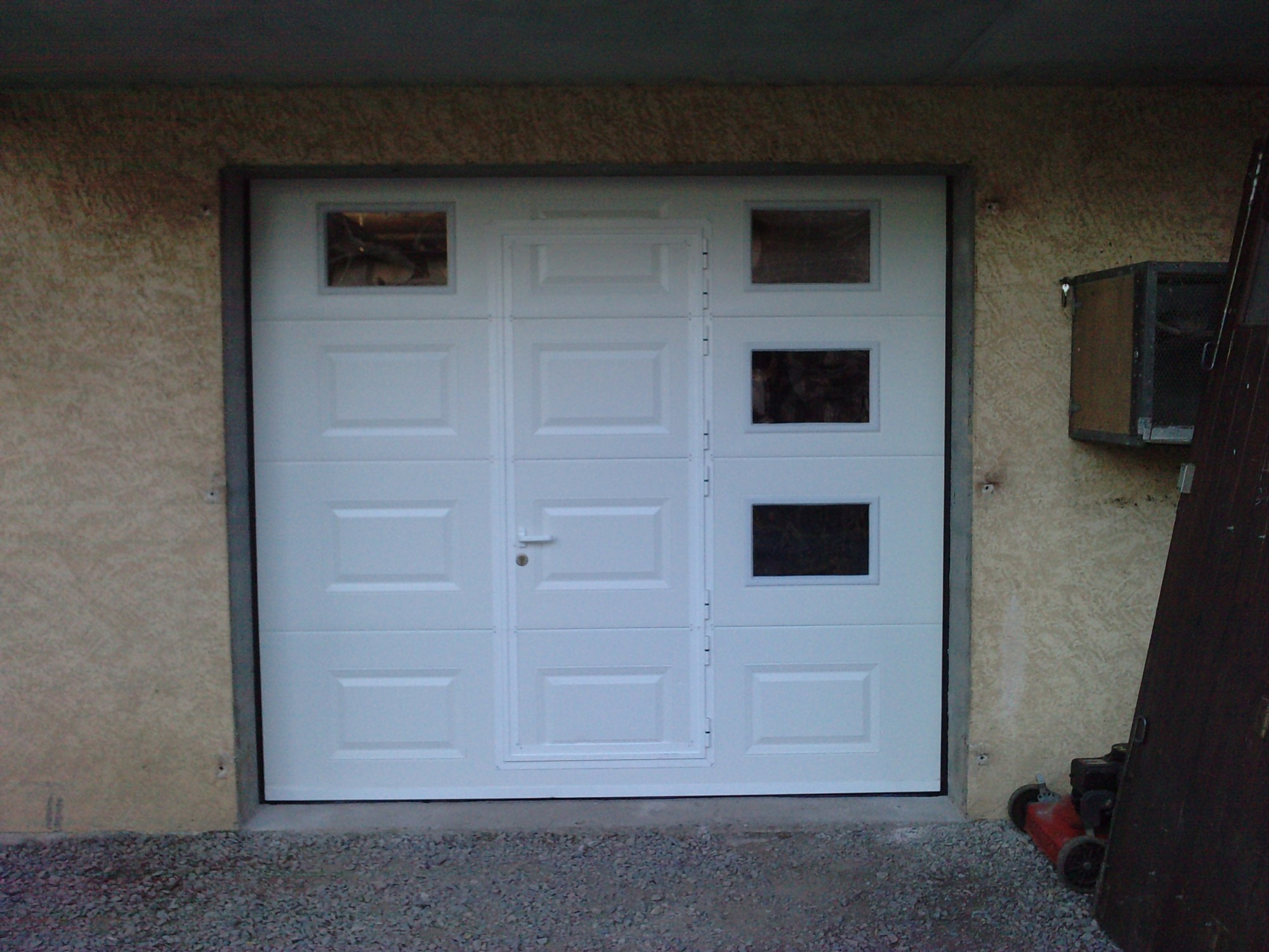 Porte de garage sectionnelle devis