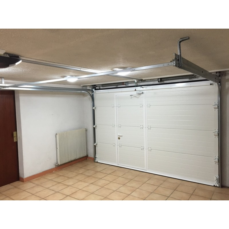 Porte de garage sectionnelle avec portillon avis
