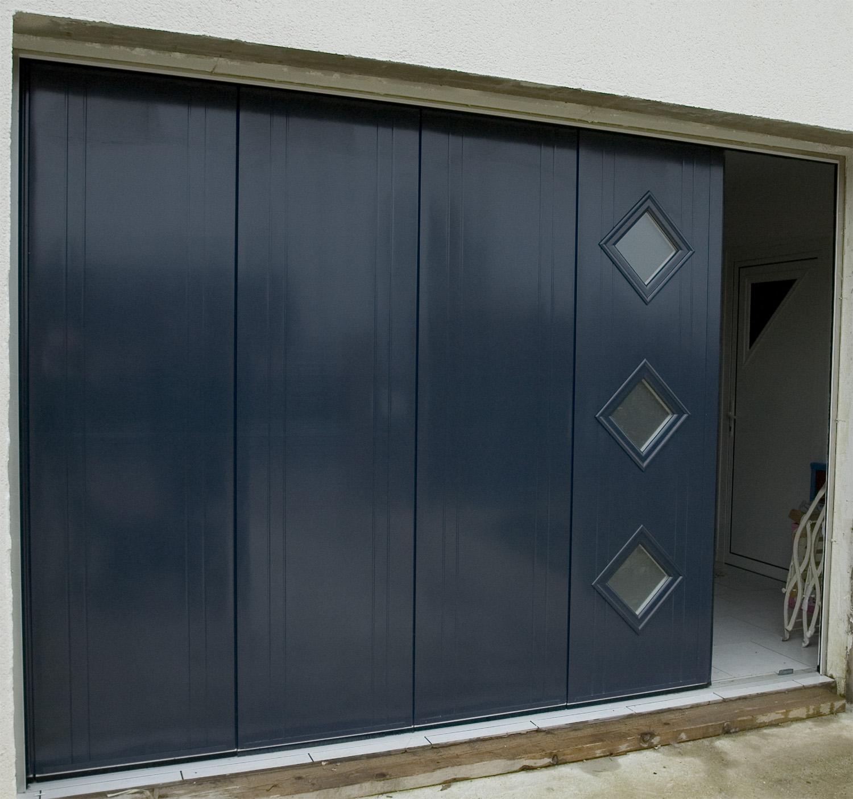 Porte de garage sectionnelle confort