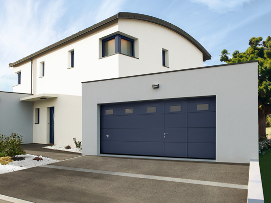 Porte de garage enroulable grande taille