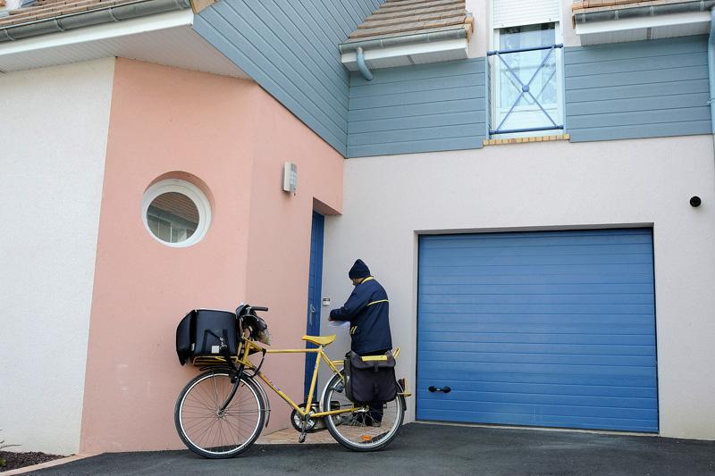 Porte de garage sectionnelle fermeture