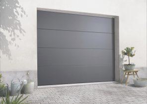 Prise de cote porte de garage sectionnelle bois eco - Porte de garage electrique pas cher ...