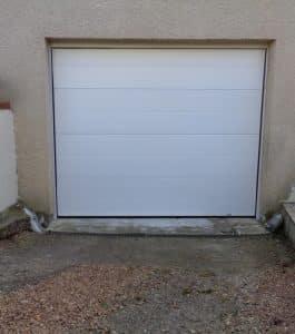 Porte de garage sectionnelle rouen