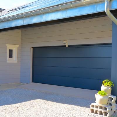 Porte de garage sectionnelle 7m