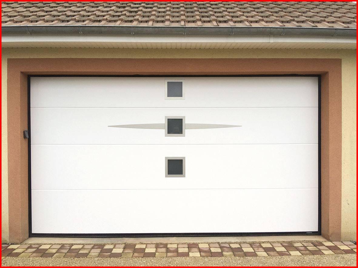 Porte de garage sectionnelle motorisée sur mesure belgique