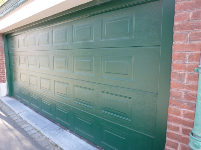 Prix grande porte de garage sectionnelle