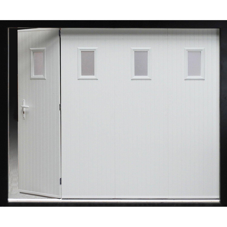 Porte de garage sectionnelle franciaflex