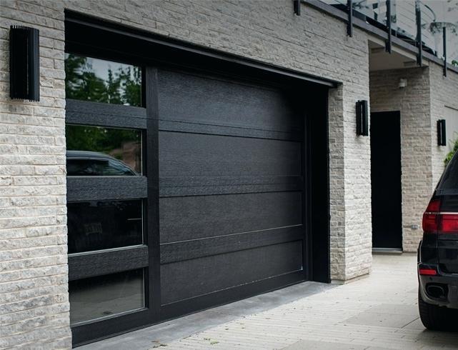 Porte de garage alu ou acier