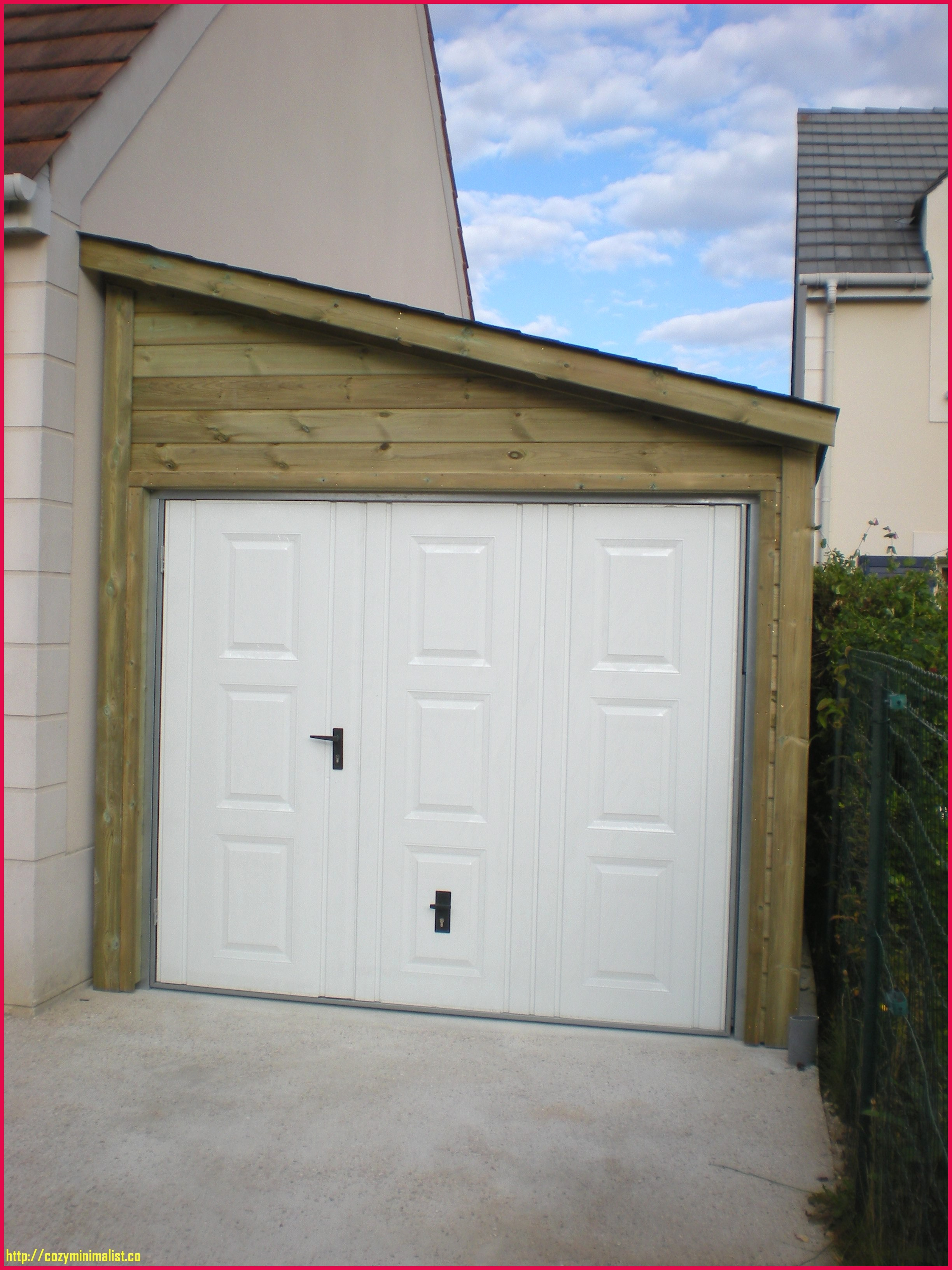 Porte de garage sectionnelle bois prix
