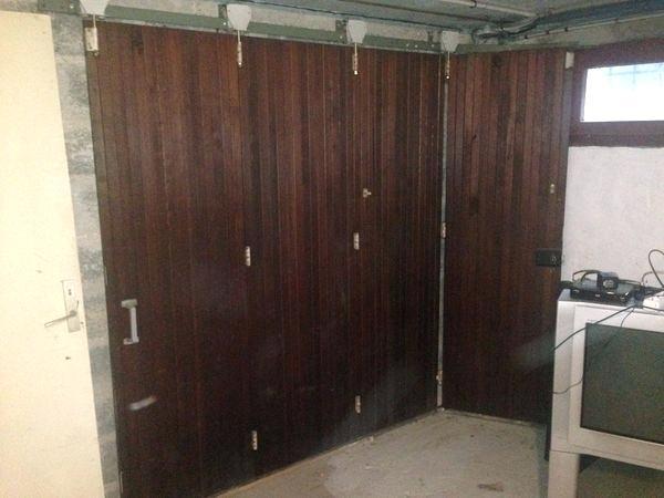 Porte de garage bois coulissante occasion
