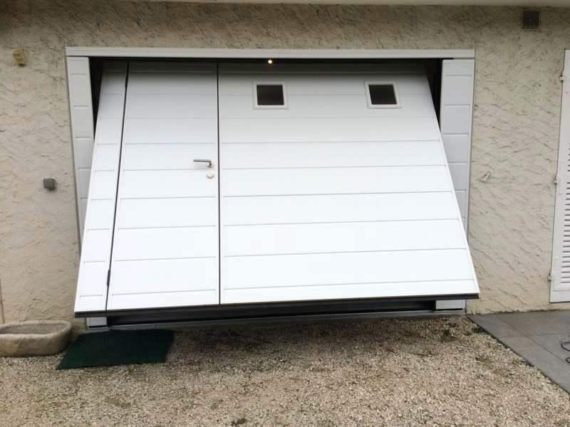 Porte de garage sectionnelle et credit d'impot 2015