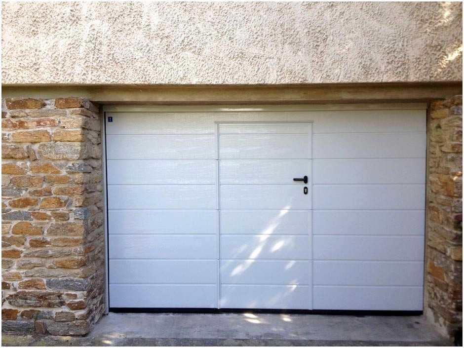 Prix porte de garage basculante avec portillon hormann