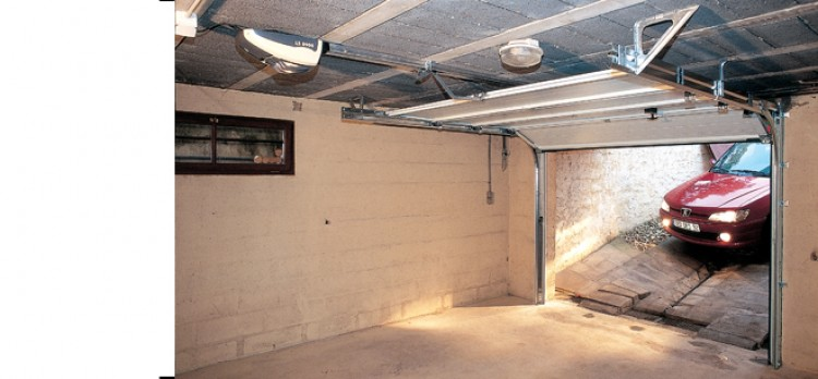 Motorisation porte de garage sectionnelle 5 m