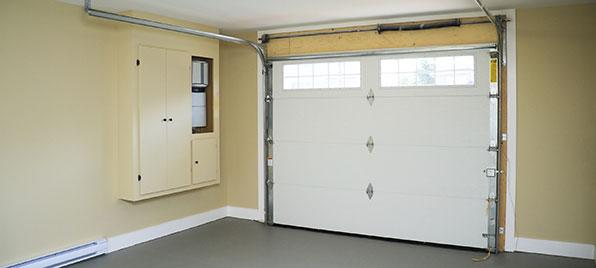 Montage porte de garage basculante motoris e bois eco - Montage porte de garage ...