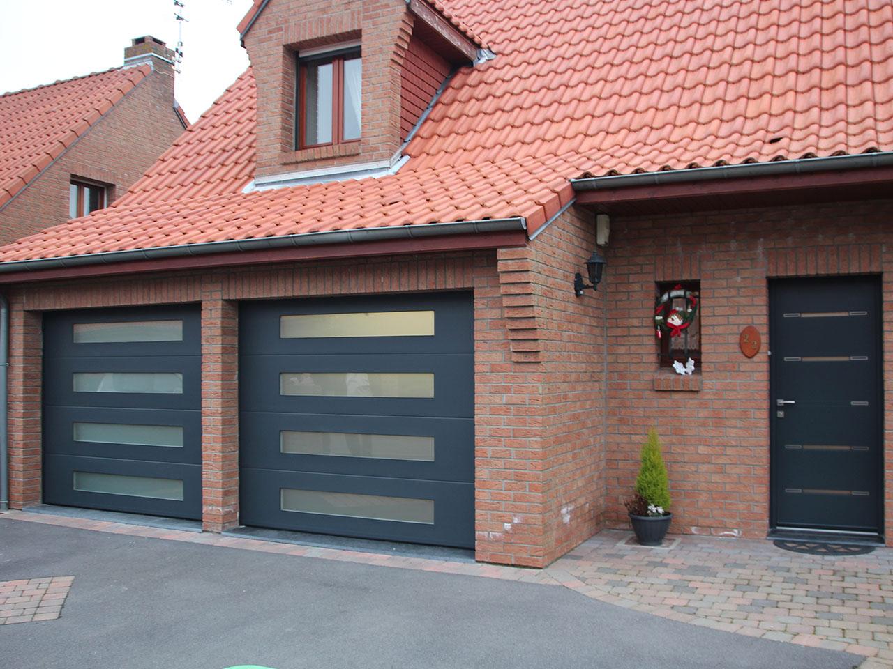 Fabricant porte de garage sectionnelle belgique