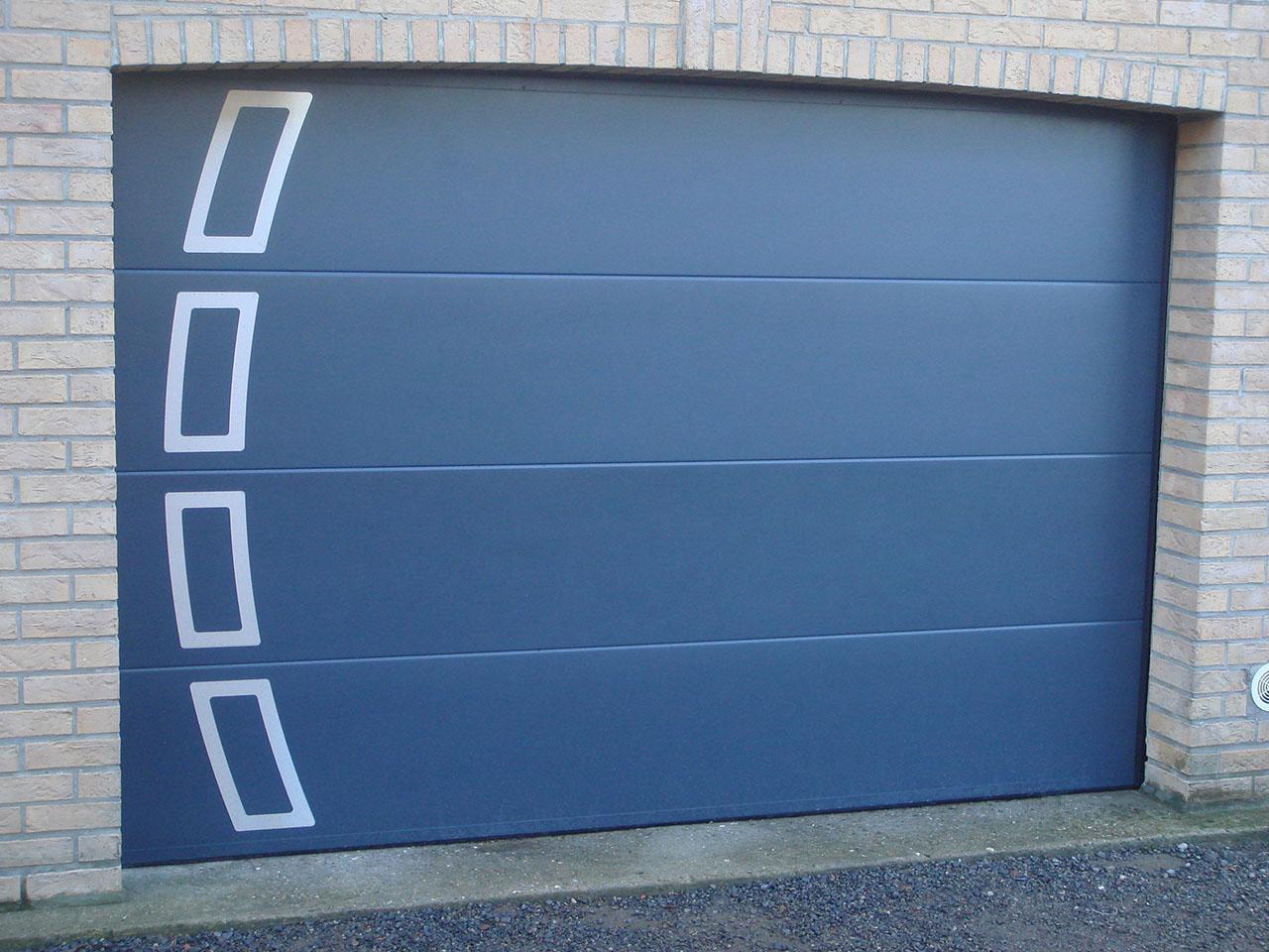Porte de garage sectionnelle 06