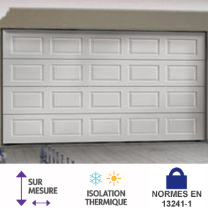 Acheter porte de garage sectionnelle pas cher bois eco Porte de garage eveno