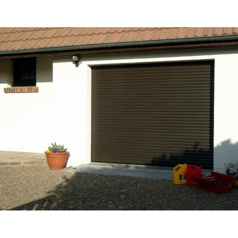 Comparatif porte de garage enroulable
