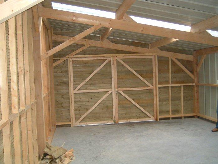 Bois pour fabrication porte de garage