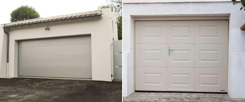 Porte de garage nantes