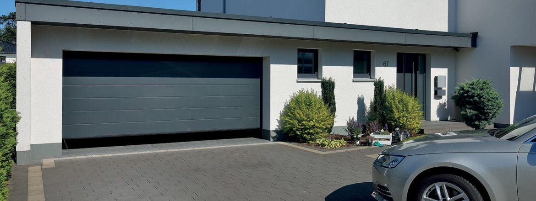 Porte de garage sectionnelle harmonic