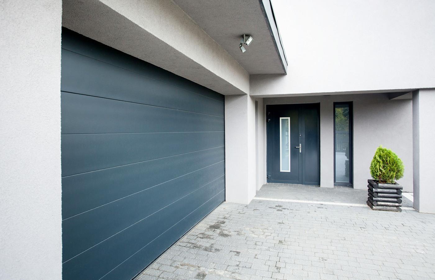 Porte de garage sectionnelle 4 50 m