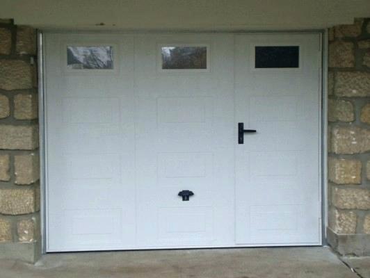 Prix pose porte de garage lapeyre