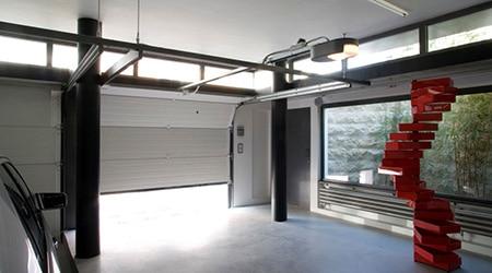 Tarif pose porte de garage sectionnelle motorisée