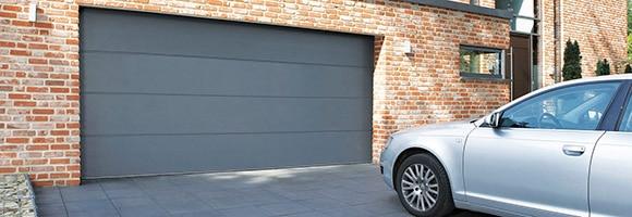 Temps de pose d'une porte de garage sectionnelle