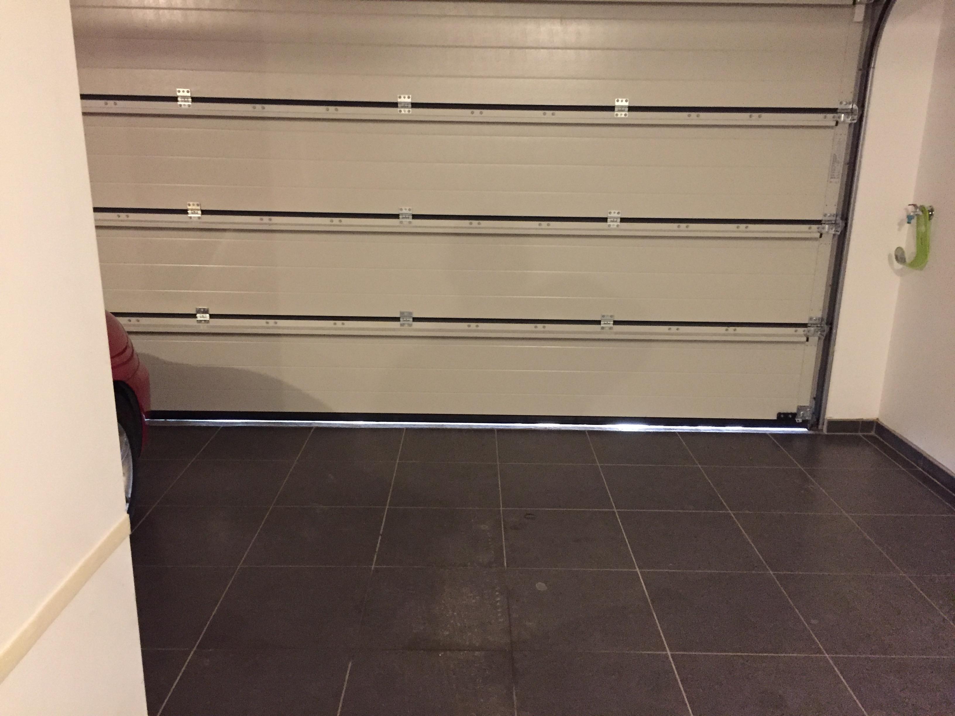 Reglage la fermeture d une porte de garage sectionnelle