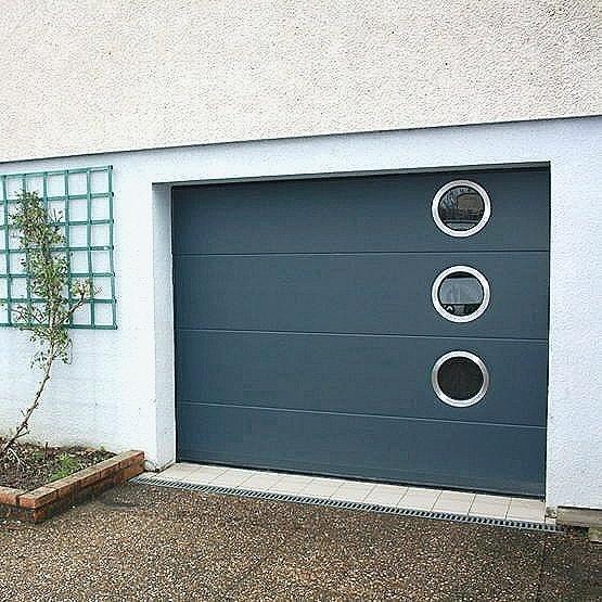 Porte de garage sectionnelle castorama 200x300 bois eco - Porte de garage castorama ...