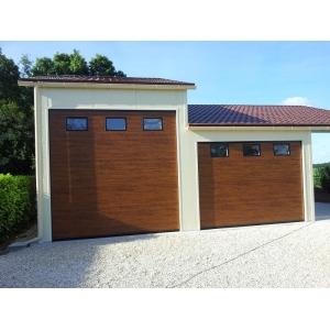 Porte de garage sectionnelle de 3m en hauteur