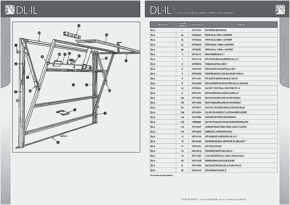 cote porte de garage sectionnelle standard bois eco. Black Bedroom Furniture Sets. Home Design Ideas