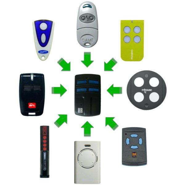 Telecommande universelle pour portail et porte de garage