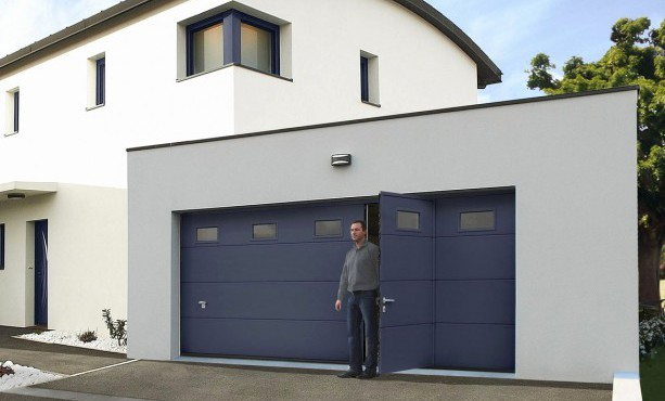 Porte de garage sectionnelle 5 mètres