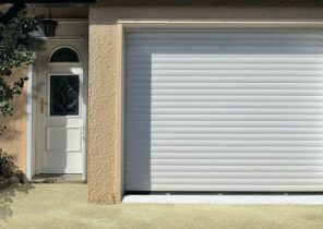 Encombrement porte de garage bois eco - Porte de garage 5m ...