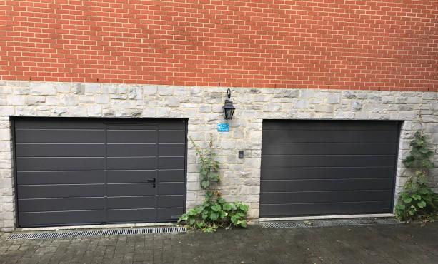 Porte de garage sectionnelle wavre