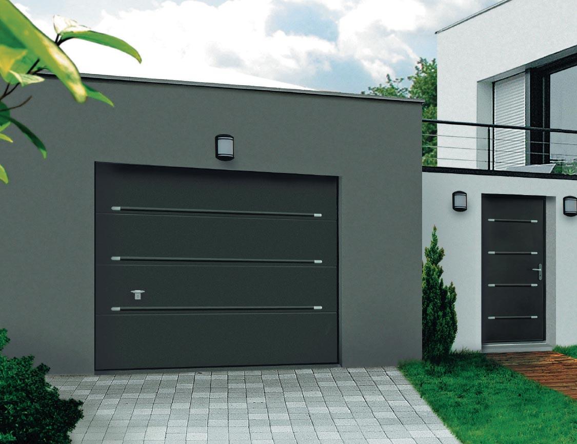 Modèle de porte de garage
