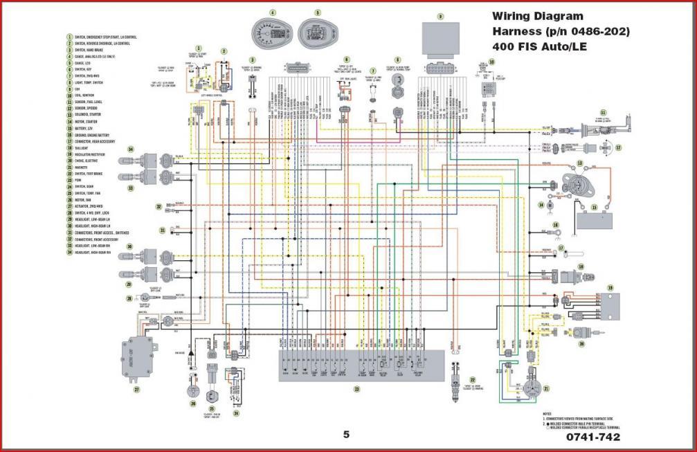 Schema Electrique Polaris 500 Ho