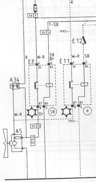 schema electrique volvo 480