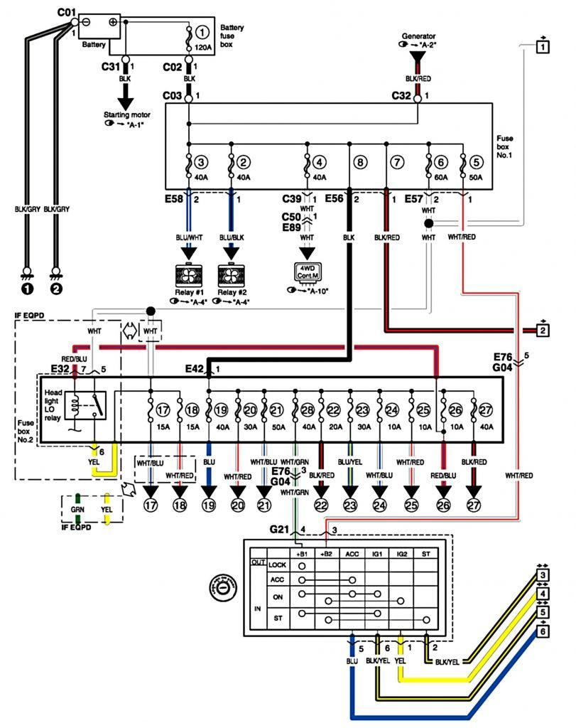 Schema Electrique Suzuki Sx4
