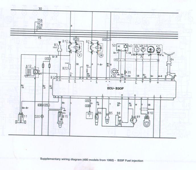 schema electrique laguna 2 1 8 16v
