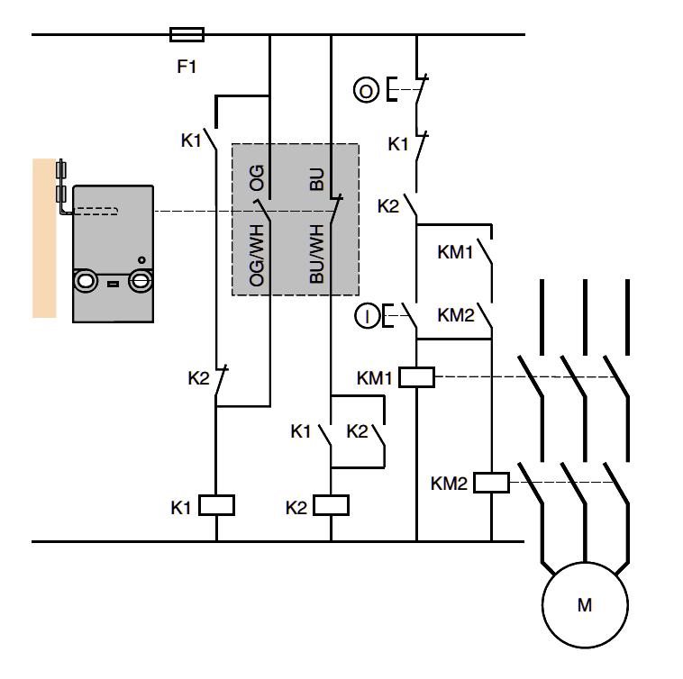 sch u00e9ma  u00e9lectrique relais de s u00e9curit u00e9