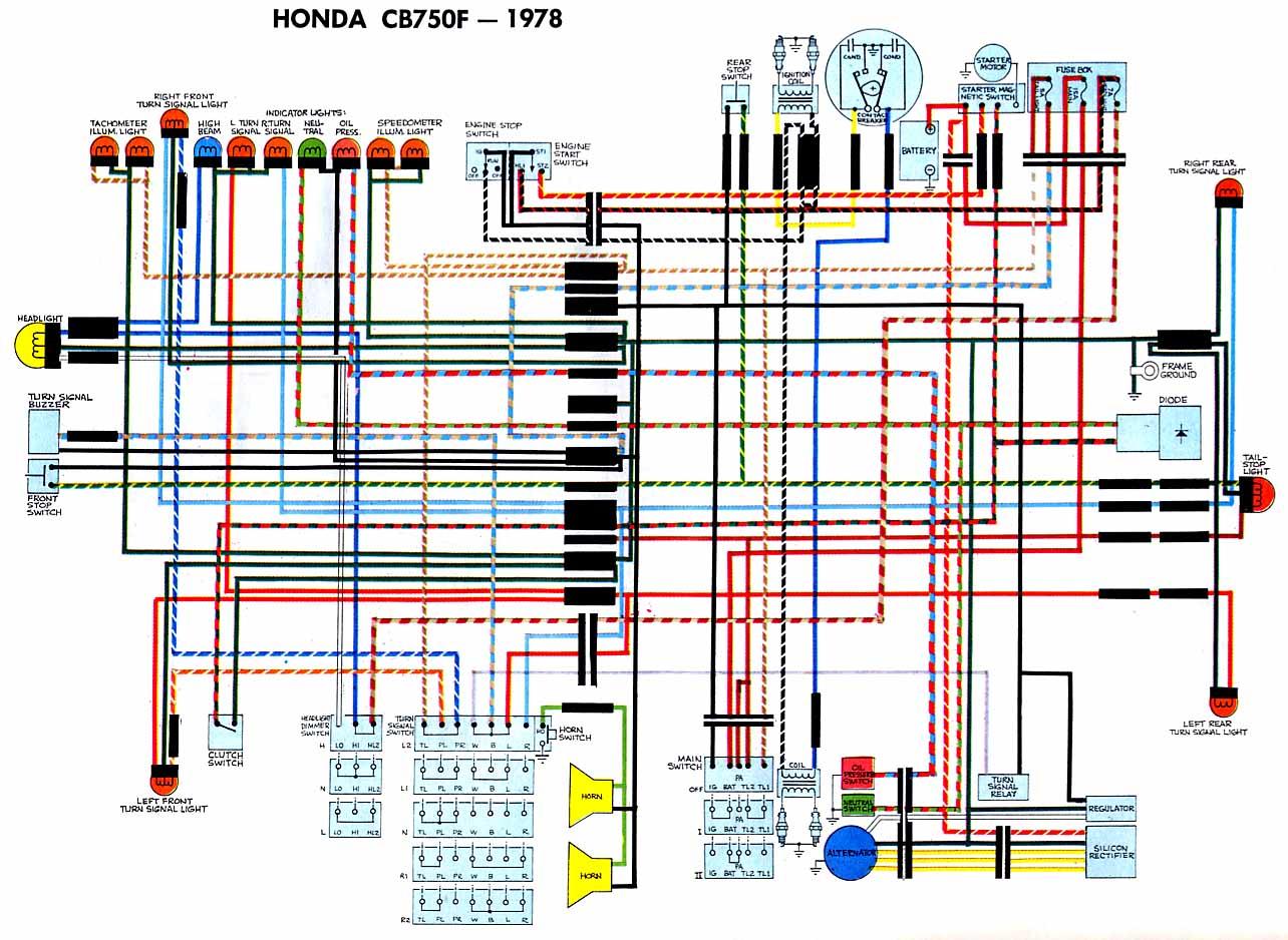 Schema Electrique Honda 750 Vfr